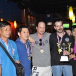 July 2011 Bangkok Pool League Tournament and awards.